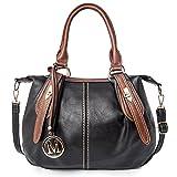 LWK Women Handbags Classic PU Leather Handbags Zipper Shoulder Bags Crossbody Messenger Bags 280