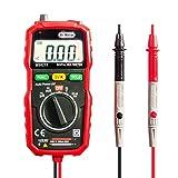 Pocket Digital Multimeter, Dr.Meter MS8232 Mini Auto Reichweite Multi Tester, AC/DC Spannung, Strom, Widerstand Tester mit Hintergrundbeleuchtung LCD