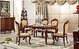 Ma Xiaoying Esszimmer Sets enthält eine lang Tisch und sechs Stühle