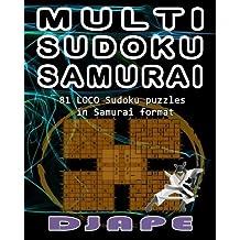 Multi Sudoku Samurai by Djape (October 23,2014)