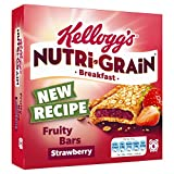Kellogg's Nutri-Grain Fruity Breakfast Bars Strawberry 6 x 37g