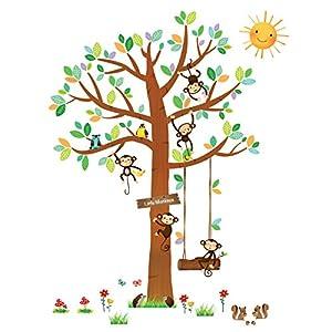 Wandsticker Kinderzimmer Baum günstig online kaufen   Dein Möbelhaus