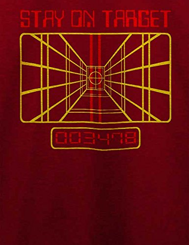 Stay On Target T-Shirt Bordeaux