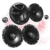 JVC frontale/posteriore 16,5cm/165mm auto altoparlante/casse/speaker Set completo per AUDI