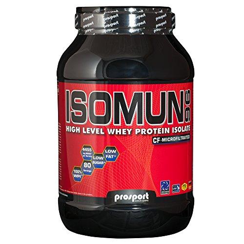 Prosport - ISOMUN 96 Neutral 2000g Dose, Whey Protein Isolat Pulver - Wpi-whey Protein