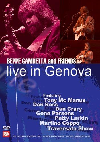 BEPPE GAMBETTA & FRIENDS: LIVE IN GENOVA REINO UNIDO DVD