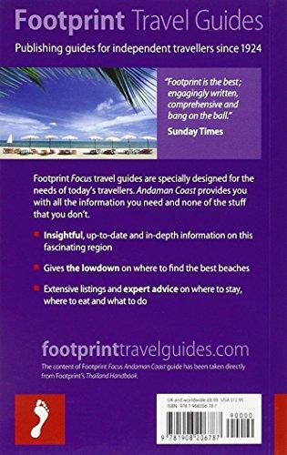 Footprint Focus: Andaman Coast (Footprint Focus Guide)