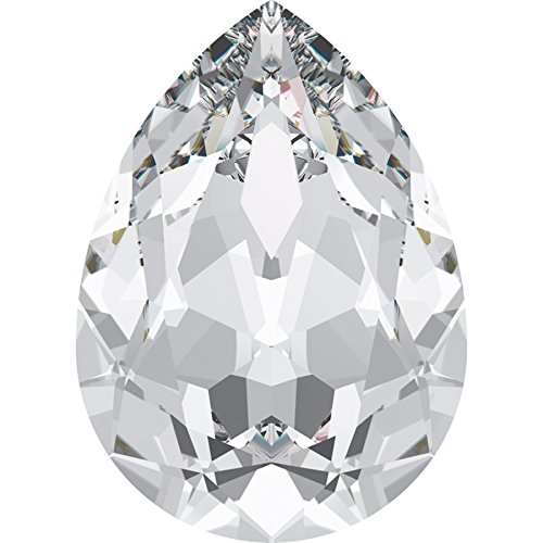 Swarovski Kristalle 28229 Schmucksteine 4320 MM 6,0X 4,0 Crystal, 360 Stück