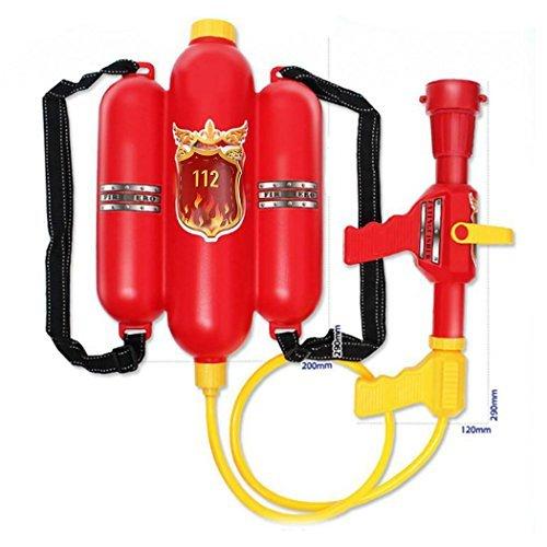 Super Soaker Blaster Fire Rucksack Druck Squirt Pool Spielzeug Kinder Sommer Strand Gaming Wasser Gun ()