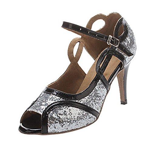 Miyoopark , Salle de bal femme Silver-10cm heel