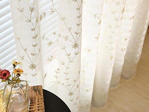 Tende A Fiori Per Camera Da Letto : Tende moderne in lino decorazione in campagna di lino fiori