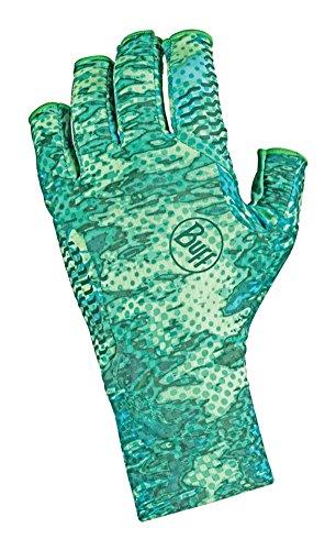 Buff Aqua Handschuhe, unisex, Pelagic Camo Green (Pelagic Camo)