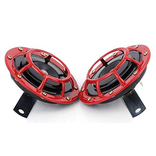 Preisvergleich Produktbild Pretty-jin Car Bassin Horn Super Laute Luft Horn 12V Universal Motorrad Lautsprecher Motorrad Umrüstung Zubehör Wasserdichte Horn Kit