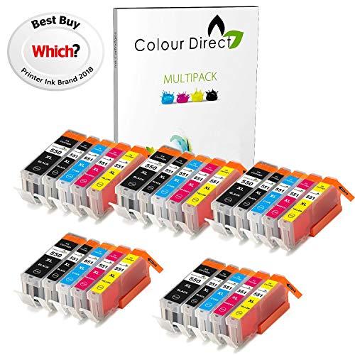 Colour Direct 25 XL 5 Juegos Cartuchos Tinta compatibles