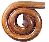 Didgehorn Ungestimmt Mahagoni Schneckendidgeridoo Snail Didgeridoo Reise Travel