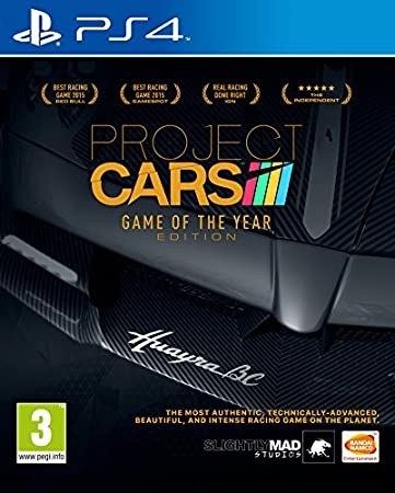 Project CARS - Game of the Year Edition (PS4)