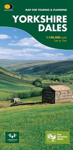 Yorkshire Dales: Map for Touring and Planning (Routemap) por Harvey Map