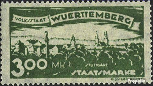Württemberg d281 Favor édition dévaluation 1920 Adieu édition Favor (Timbres pour Les collectionneurs) B07DWCQ63D 5dec56