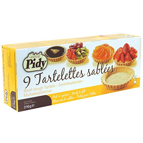 Pidy - 9 Tartelettes Sablees - 216g