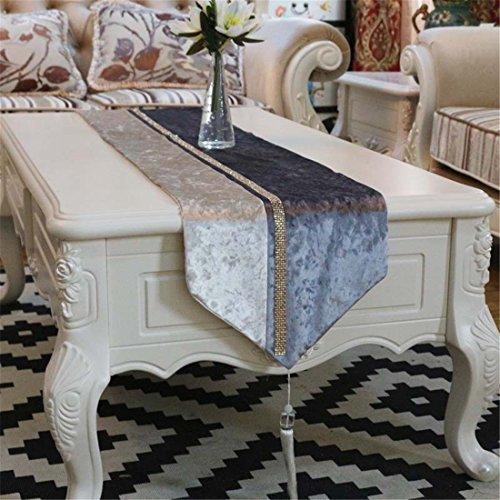 n/Dekoration European Fashion diamond Table runner Tisch Tischdecke, 32 * 200 ()