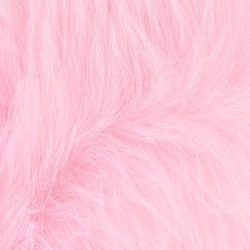 La Vogue Cache Oreille Réglable Femme Fille Fourrure Fausse Chaude Hiver Mauve