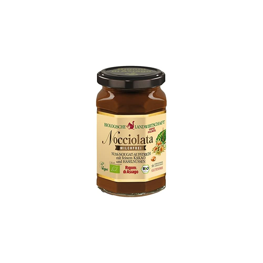 Rigoni Di Asiago Bio Nocciolata Nuss Nougat Creme 270g Milchfrei Vegan Glutenfrei