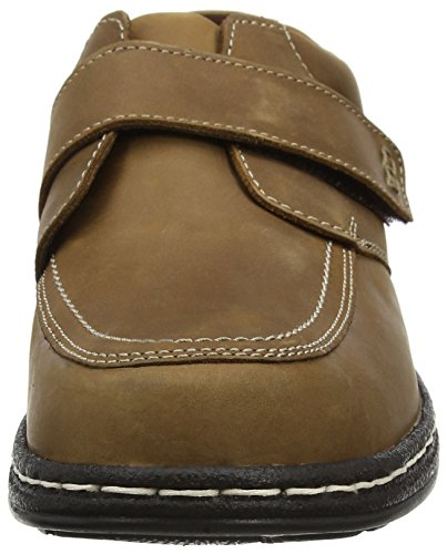 Hush Puppies Vince Victory, Mocassins Homme Marron (Dark Tan)