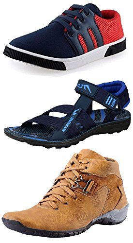 Maddy-Perfect-Combo-of-Outdoor-Shoes-Sneaker-Sandal-for-Men-Pack-of-3-in-Various-Sizes