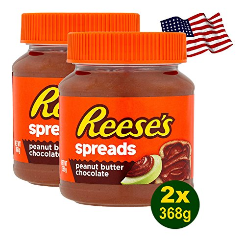 Reese's Spreads Peanut Butter Chocolate 2x 368g (736g) - aus den USA