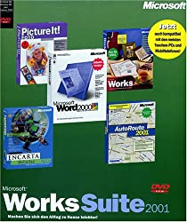 Microsoft Works Suite 2001 Dvd