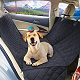 Rabbitgoo® Hunde Autoschondecke 100% Wasserdicht Haustier Auto-Rücksitzabdeckung Hundesitzbezug Hängematte Rutschfest