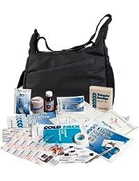 DURAGADGET Bolso / Botiquín Para Equipo De Primeros Auxilios | Perfecto Para Fisioterapeutas Deportivos - Con Bandolera Y Compartimentos Interiores