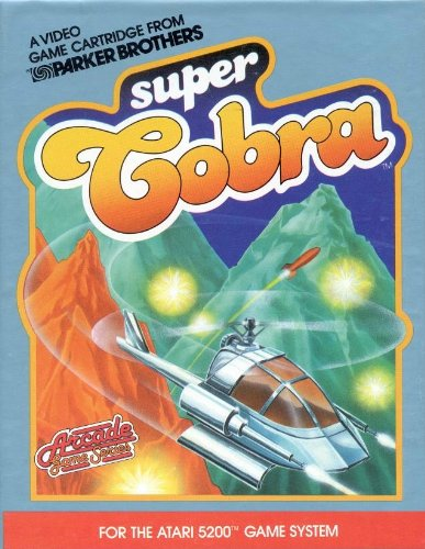 Super Cobra (Atari 5200 Cartridge)