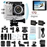 Best Selling PINGKOPINGKO F60 Action Camera 16MP FHD 1080P 4K Wi Fi Waterproof Action Cam 2.0