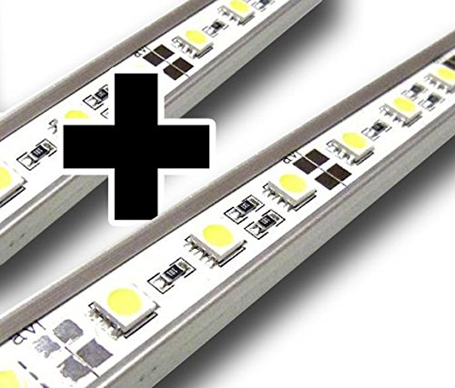 LED-Beleuchtung (kaltweiß, 90cm) Simulator Steuerung Terrarium/Aquaterrarium/Vivarium Reptilien Amphibien Spinne Insekt TB5WW - 5