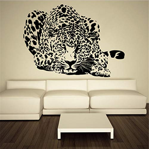 Etiqueta De La Pared De Vinilo Adhesivo Leopardo Velocidad Animal Decoración Para El Hogar Extraíble Tatuajes De Pared De Vinilo Kids Room Art Decor Etiqueta De La Pared