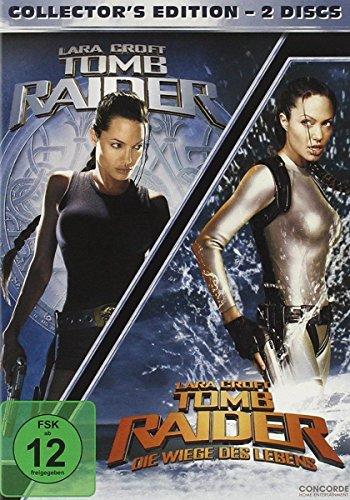 Lara Croft: Tomb Raider / Tomb Raider - Die Wiege des Lebens [Collector's Edition] [2 DVDs]