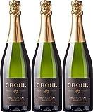 Eckehart Gröhl Pinot Noir Sekt Extra Trocken (3 x 0.75 l)