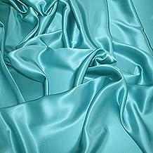 Supgod - Splendido tessuto in raso di seta al metro per abiti su misura 378f9567397