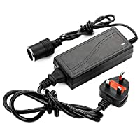 Power Supply Cigarette Lighter Socket Car Power Charger Converter 100-240V Mains Plug To 12V DC Car Charger Up To 60W 5A Power Adapter