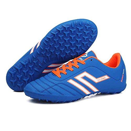 Shi18sport Kinder Fußball Schuhe Fußball Schuhe Broken Nail Training Schuhe Künstliche Verschleißfest Fußball Schuhe, 52 -