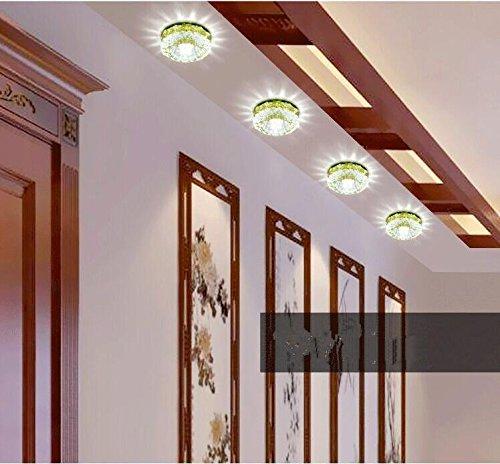 DJ/ LED Downlight/soffitto cristallo illuminazione/sfondo/apparecchi/da incasso a parete , yellow color light