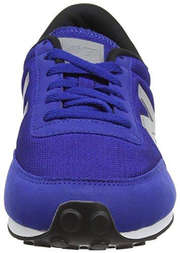 New Balance U410 Clásico, baskets sportives mixte adulte Bleu (Blue/White)