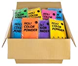 Ohfx - Pack de 96 bolsas de polvo Holi, color azul, verde, naranja,...
