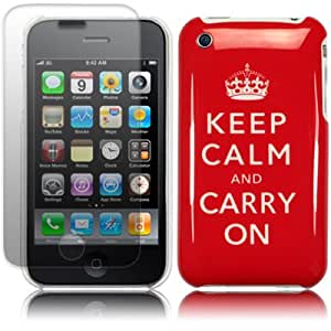 """""""Keep Calm & Carry On"""" Cover for iPhone 3G 3GS"""