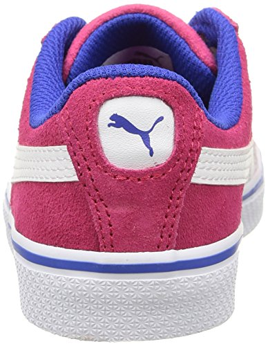 Puma 1948 Vulc, Baskets Basses Garçon Rouge (Rose Red/White)