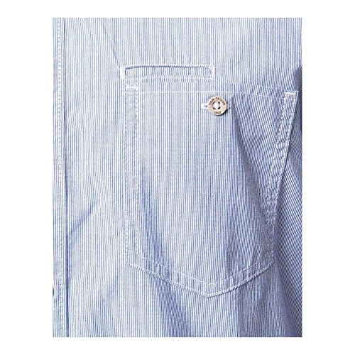 Chemise TOM TAILOR Ray cosy fine Bleu