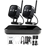 Zmodo Replay 1080p 4-Channel HDMI NVR Wireless WiFi Smart Home Surveillance Security Camera