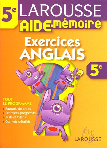 Descargar Libro Aide mémoire collèges : Anglais, 5ème de Larousse