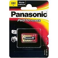 Panasonic Cr2 Micropila Photo Litio, Blister 1,